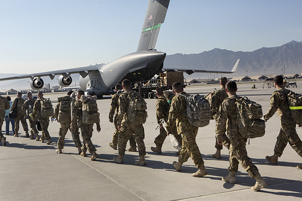 Withdrawal From Bagram Air Base Afghanistan